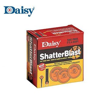 ShatterBlast kleischijven 60 stuks