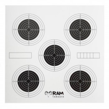 RAM Schietkaarten 14x14 FIVE