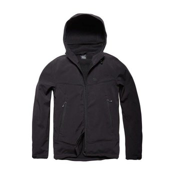 Alford softshell jacket Zwart