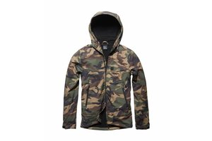 Alford softshell jacket Woodland