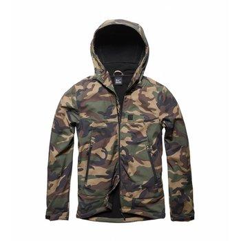 Alford softshell jacket Woodland