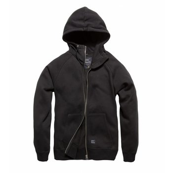 Basing hooded sweatshirt Zwart