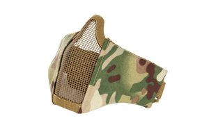 Airsoft face mask nylon/mesh Multi Camo