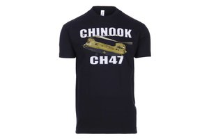 T-shirt Chinook zwart