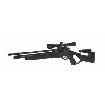 Gamo Coyote Black 5.5mm incl. pomp, 3-9X40 kijker en losse demper