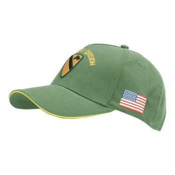 Baseball cap US Cavalry WWII 3D groen