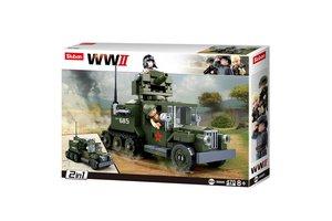 Sluban WWII Allied half M38-B0685 #16135