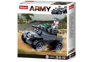 Sluban German Army Armored car M38-B0680C