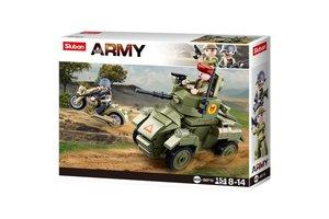 Sluban Small English Armored Vehicle M38-B0710 #16153