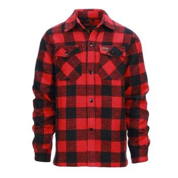 Houthakkershemd dik Rood