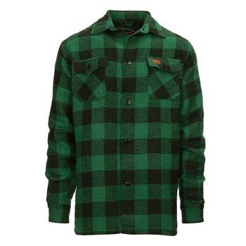 Houthakkers hemd dik Groen
