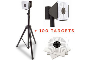 Target Sport Schietkast op standaard incl. 100 schietkaarten