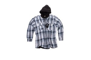 Thermo shirt met fleece voering en capouchon