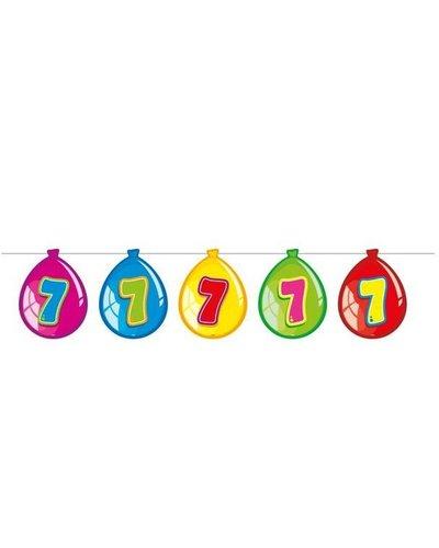 Magicoo Verjaardags slingers  7 jaar