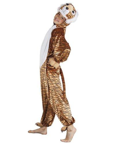 Magicoo Pluche tijgerpak voor kinderen