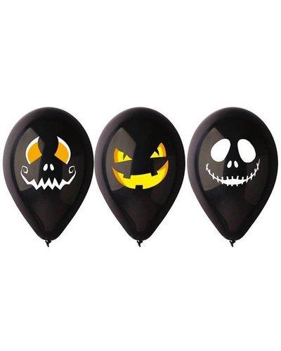 Magicoo 3 zwarte ballonnen halloween