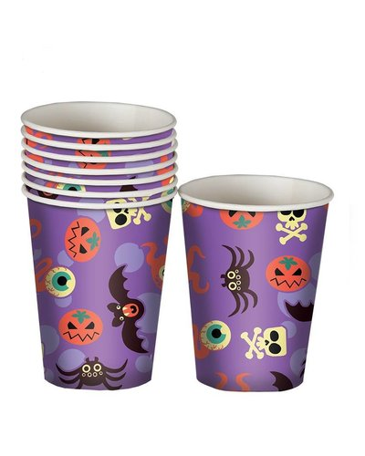 Magicoo 8 Halloween bekers