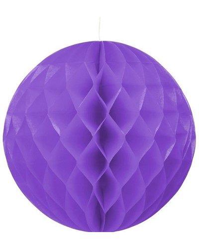 Magicoo Party Honeycomb versiering lila- 30 cm