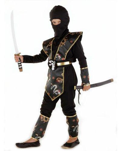 Magicoo Ninja Dragon pak zwart goud voor kinderen