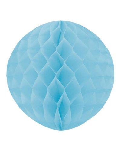 Magicoo Party Honeycomb versiering lichtblauw - 30 cm