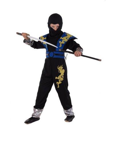 Magicoo Blauw Ninja Dragon pak voor kinderen