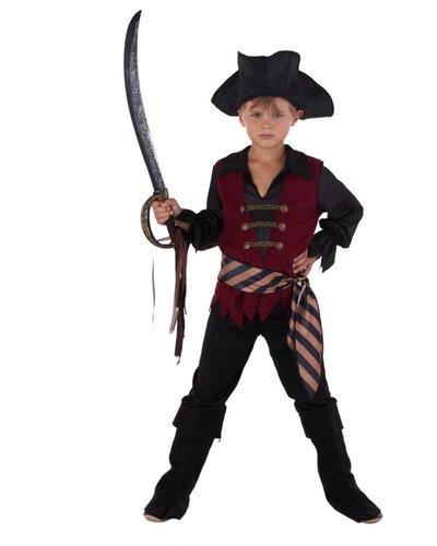 Magicoo Luxe piratenpak jongens
