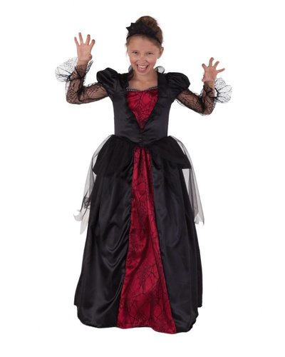 Magicoo Vampier jurk Wicked voor meisjes