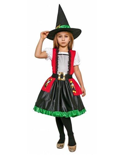 Magicoo Bonte heksenjurk meisjes