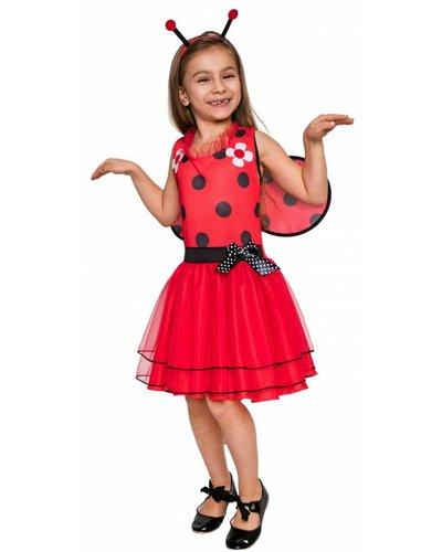Magicoo Lieveheersbeestje jurk voor meisjes