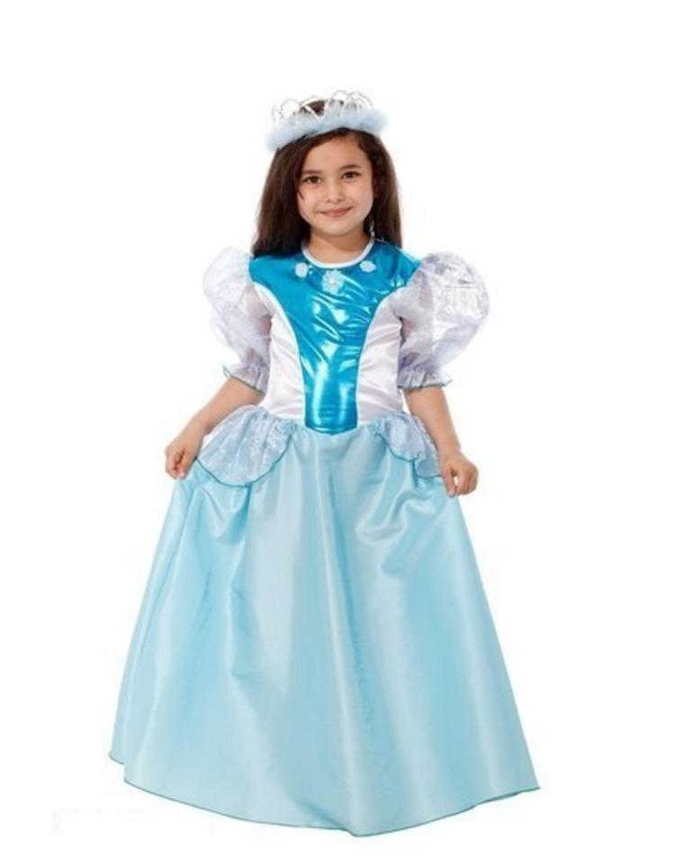 6eb569a07e6d45 Blauwe prinsessenjurk voor kinderen