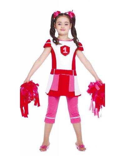 Magicoo Cheerleader kostuum kinderen