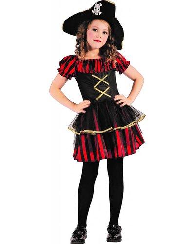 Magicoo Rode piratenjurk meisjes
