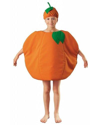 Magicoo Sinaasappel kostuum voor kinderen