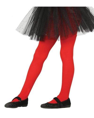 Magicoo Rode pantys maillot voor kinderen