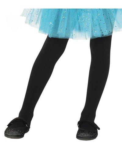 Magicoo Zwarte pantys maillot voor kinderen