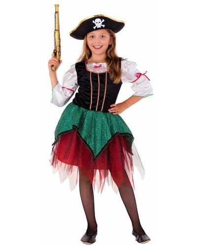 Magicoo Deluxe piratenpak voor meisjes
