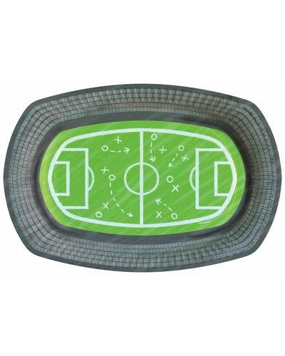 6 partyborden voor voetbal party