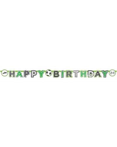 """Magicoo Slinger """"Happy Birthday"""" voor een voetbalfeestje"""