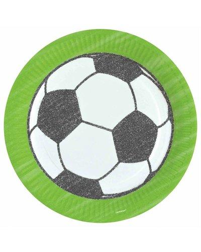 Magicoo 8 partyborden voor voetbalverjaardag