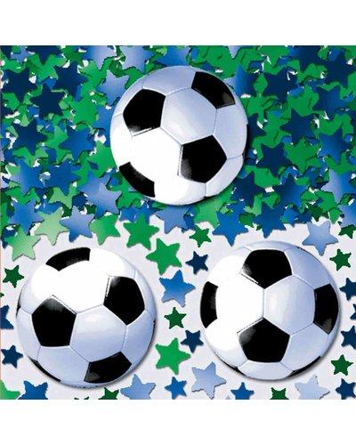 Confetti voetbalparty