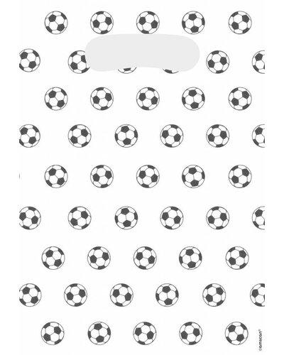Magicoo voetbal uitdeelzakjes snoep