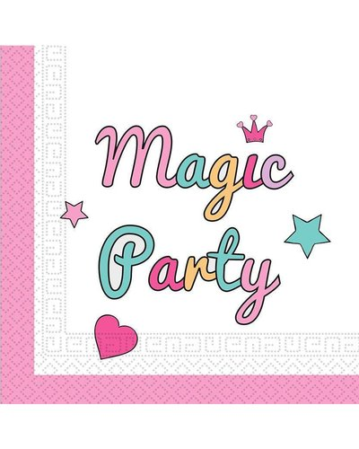 "Magicoo 20 servetten- ""Magic Party"""