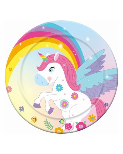Magicoo 6 partyborden unicorn