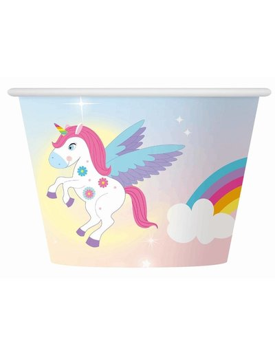Magicoo 6 ijs bekers unicorn