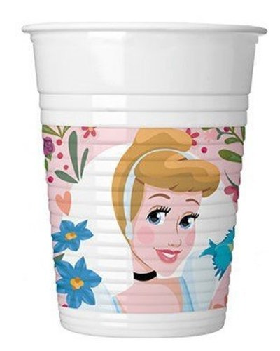 "Magicoo 8 bekers met ""Disney prinsessen"" - 200 ml"