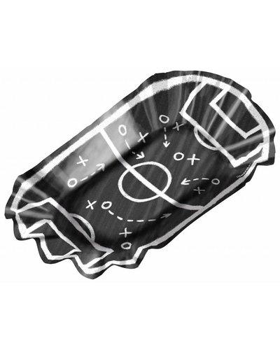 Magicoo 8 frietschalen voor voetbalfeest  - 17,5 x 10 cm