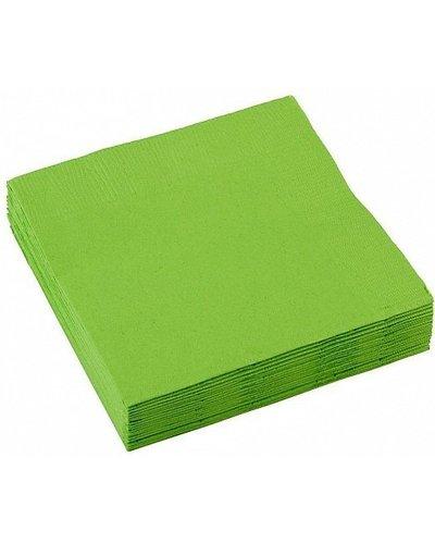 Magicoo Servetten groen - 20 stuk - 25x25 cm