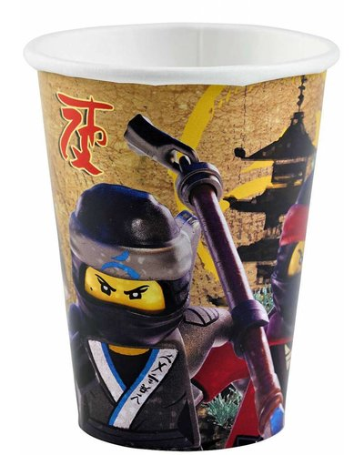 Magicoo partybekers Ninjago Lego - Ninja feest