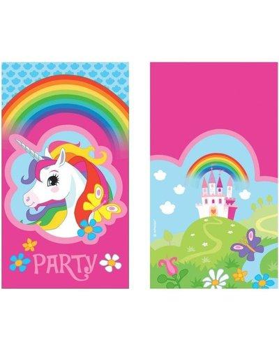 Magicoo 8 uitnodigingen unicorn party