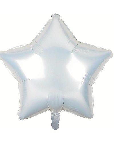 Magicoo Folieballon ster wit - 48 cm
